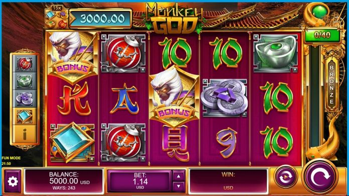 Slot Game Monkey God tipbongfree