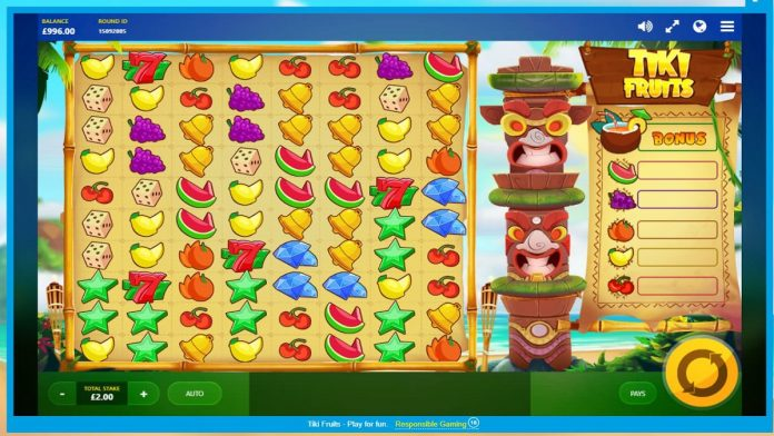 Slot Game Tiki Fruits tipbongfree