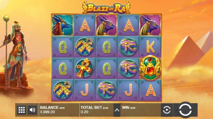 Slot game Blaze of Ra